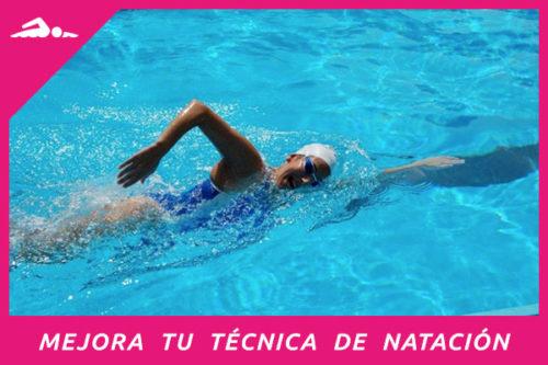 Plan de entrenamiento para mejorar la técnica de natación